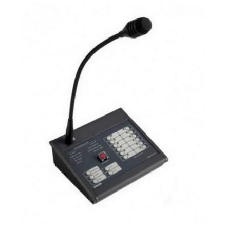 PASO PMB132/12-V  | Certifierad utrymningsmikrofon - talat utrymningslarm