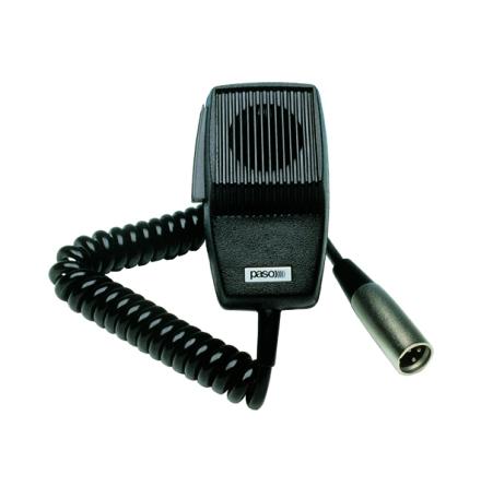 PASO M132-V  | Mikrofon med spiralsladd