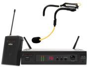ANSR AUDIO AW-256-H2O mottagare, bodypack och H20 mikrofon