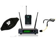 ANSR AUDIO AW7572-H2O, Mottagare, beltpack sändare, sändarväska och H2O headset