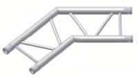Alur Solutions horisontellt hörn 135º - KN-22 - 2-punktstross - utmärkt tross system för mässmonter applikationer och butiks installationer