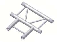 Alur Solutions horisontellt 3-vägs T-stycke - KN-22 - 2-punktstross