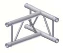 Alur Solutions vertikalt 3-vägs T-stycke - KN-22 - 2-punktstross