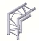 Alur Solutions hörn 90º spets neråt - KN-22 - 3-punktstross - utmärkt tross system för mässmonter applikationer och butiks installationer