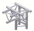 Alur Solutions 4-vägs T-stycke spets neråt - KN-22 - 3-punktstross - utmärkt tross system för mässmonter applikationer och butiks installationer