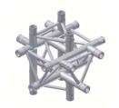 Alur Solutions 6-vägs T-stycke  - KN-22 - 3-punktstross - utmärkt tross system för mässmonter applikationer och butiks installationer