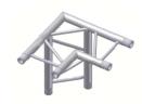 Alur Solutions horisontellt 3-vägs hörn 90º för ben- K-30 - 2-punktstross - tross system för medelstora applikationer av permanenta och tillfälliga konstruktioner