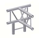 Alur Solutions vertikalt 4-vägs T-stycke - K-30 - 2-punktstross - tross system för medelstora applikationer av permanenta och tillfälliga konstruktioner