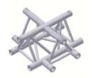 Alur Solutions 4-vägs Tvärstycke - K-30 - 3-punktstross - ett utmärkt tross system för medelstora applikationer av permanenta och tillfälliga konstruktioner