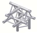 Alur Solutions 4-vägs T-stycke spets uppåt - K-30 - 3-punktstross - ett utmärkt tross system för medelstora applikationer av permanenta och tillfälliga konstruktioner