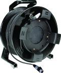 Klotz M1D-100 | 100m XLR-XLR kabel trumma med Klotz MY206