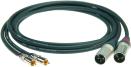 Klotz ALPM | Kabel med RCA-XLR Hane