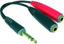 Klotz AYS-1 | Y-Splitt 3P Tele - 2x2P Tele