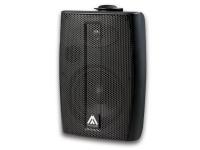 Master Audio B-6/T Svart - Högtalare med anpassningstransformator för installation i offentliga miljöer