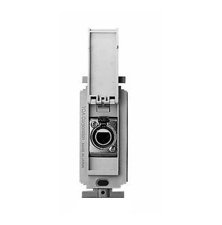 TOA YM-3CF   Kontaktplatta med XLR hona