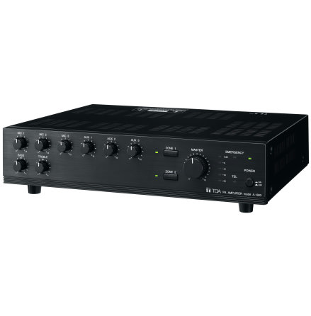 TOA A-1803   Mixerförstärkare 30 Watt 100V