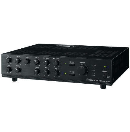 TOA A-1706   Mixerförstärkare 60 Watt 100V