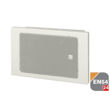 TOA BS-680FC   EN 54-24 certifierad vägg högtalare för infällnad eller utanpåliggande installation