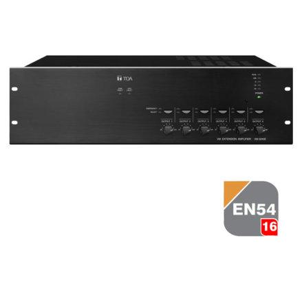 TOA VM-3240E   EN 54-16 certifierad Multifunktionell förstärkare - talat utrymningslarm
