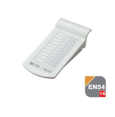 TOA RM-210 | Expansions enhet för utropsmikrofoner