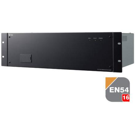TOA VX-2000 | EN 54-16 Certifierad Centralenhet