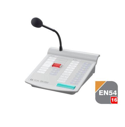 TOA RM-200X | Utropsmikrofon med fjärrstyrning