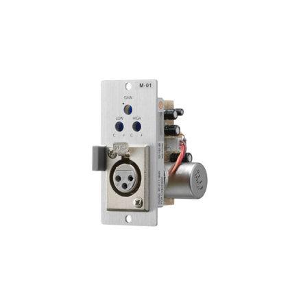TOA M-01F | Mikrofoningång för VX-2000