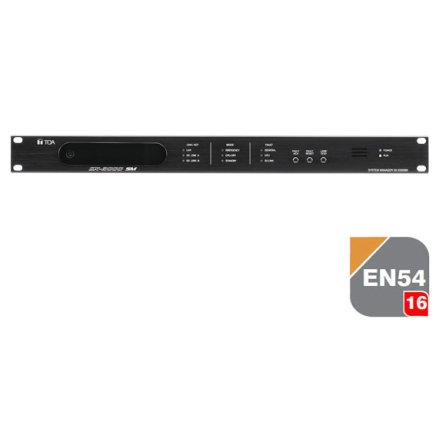 TOA SX-2000SM | EN 54-16 Certifierad Centralenhet