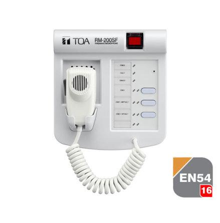 TOA RM-200SF | Brandbefälsmikrofon