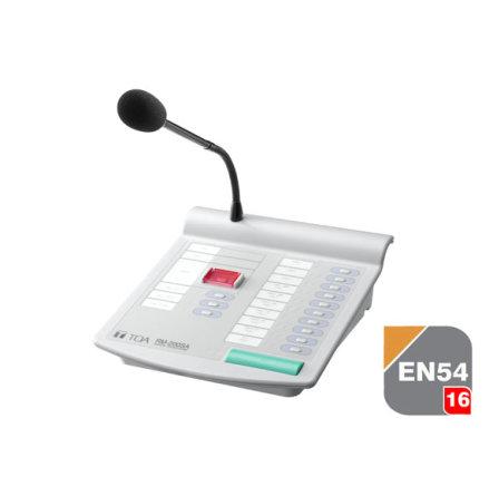 TOA RM-200SA | Utropsmikrofon med fjärrstyrning