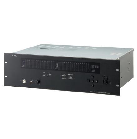 TOA D-2008SP | Digital moduluppbyggd 24- bus mixer