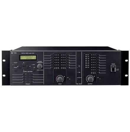 TOA D-901 | Digital moduluppbyggd 8- bus mixer