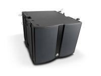Master Audio X215W Cardioide Subwoofer - Aktiv bashögtalare 2400Watt och inbyggd DSP