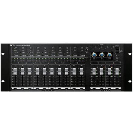 TOA M-864D | Digital mixer - zonmixer med avancerad automatisk signalbehandling och fjärrstyrning