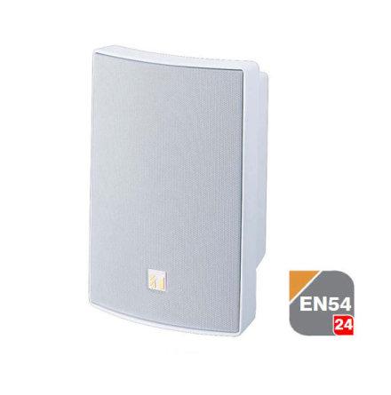 TOA BS-1015BSW   2-vägs universial högtalare EN-54-24 certifierad för tak och vägg montage