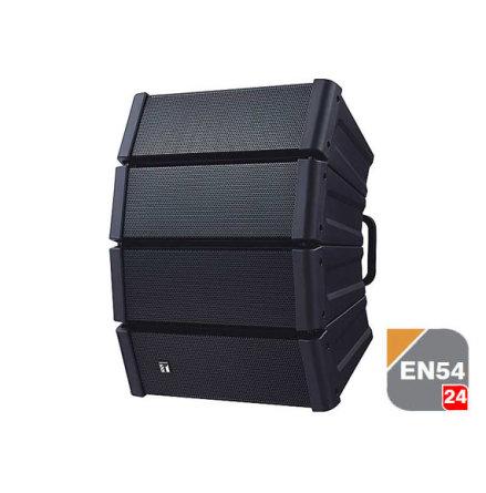 TOA HX-5B-WP EB-Q    EN 54-25 Vädersäker Svart Line Array högtalare