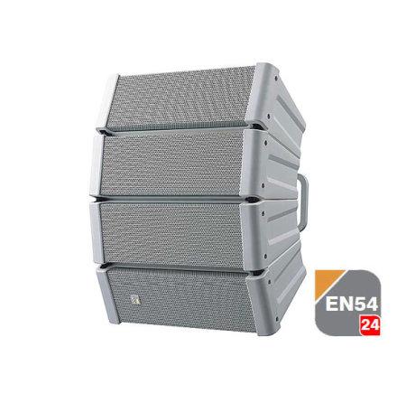 TOA HX-5W-WP EB-Q    EN 54-25 Vädersäker Svart Line Array högtalare