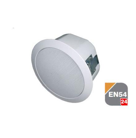 TOA PC-245AB-EB   A/B kretsTakhögtalare Certifierad EN 54-24