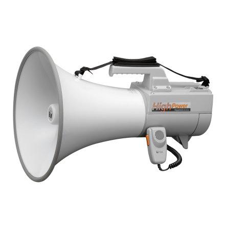 TOA ER-2230W | Megafon med axelrem 30 Watt med mikrofon och vissel funktion, 2 ingångar