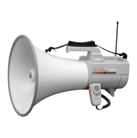 TOA ER-2930W | Megafon med axelrem 30 Watt med mikrofon och vissel funktion, 2 ingångar