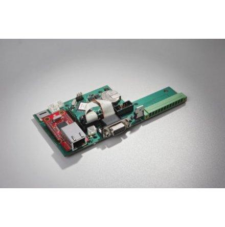 UNI Electronic UAC5E | Expansionskort Ethernet, RS-232 och portar