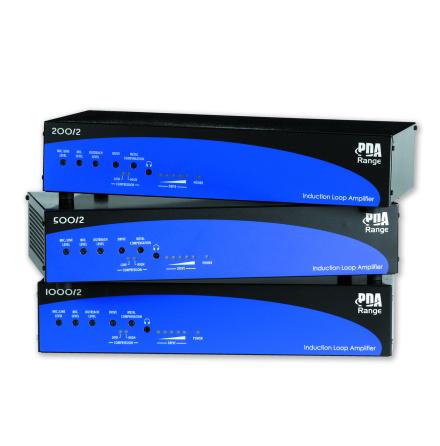 SigTEL PDA Serien | Slingförstärkare för hörslinga 200 - 1000 kvm