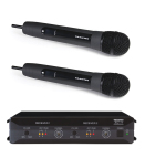 Trantec S4.16RX2HH | Trådlöst dubbelsystem med två handhållna mikrofoner