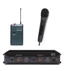 Trantec S4.16RX2HL | Trådlöst dubbelsystem med handhållen mikrofon och beltpack