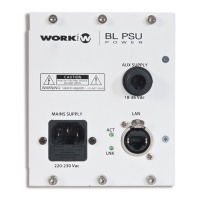 Work BL PSU | Nätdel för centralenhet BLM