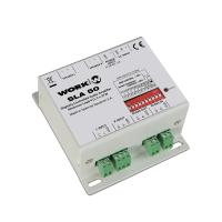 Work SLA50 | Ultrakompakt installationsförstärkare 2x25W