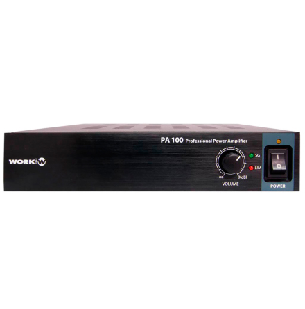 Work PA-100 | Kompakt installationsförstärkare 2x50W 100V