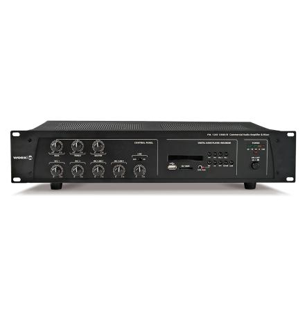 Work PA-120USB/R   Kompakt mixerförstärkare 120W med mediaspelare