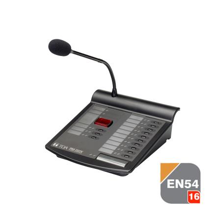 TOA RM-300X | Utropsmikrofon med fjärrstyrning